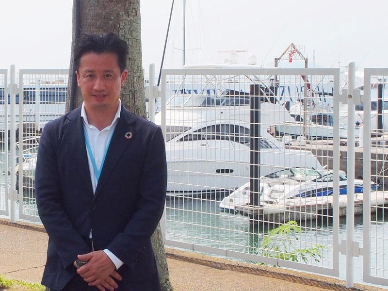 リビエラリゾートの斉藤さん