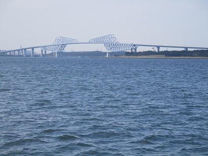 1.出航・ゲートブリッジ沖へ