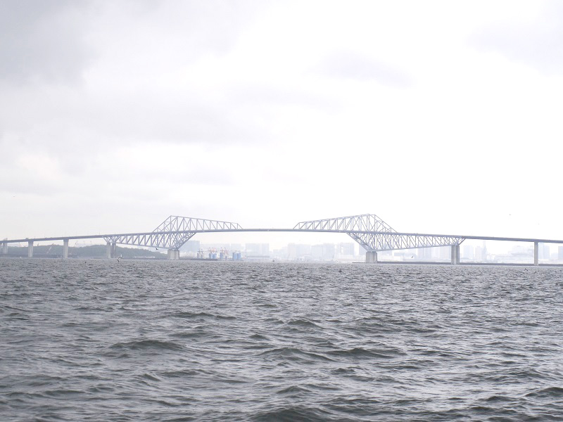 2.雨のゲートブリッジ