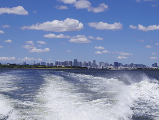1.東京湾へ