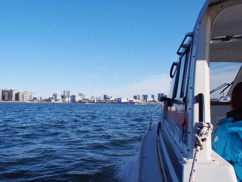 4.穏やかな東京湾