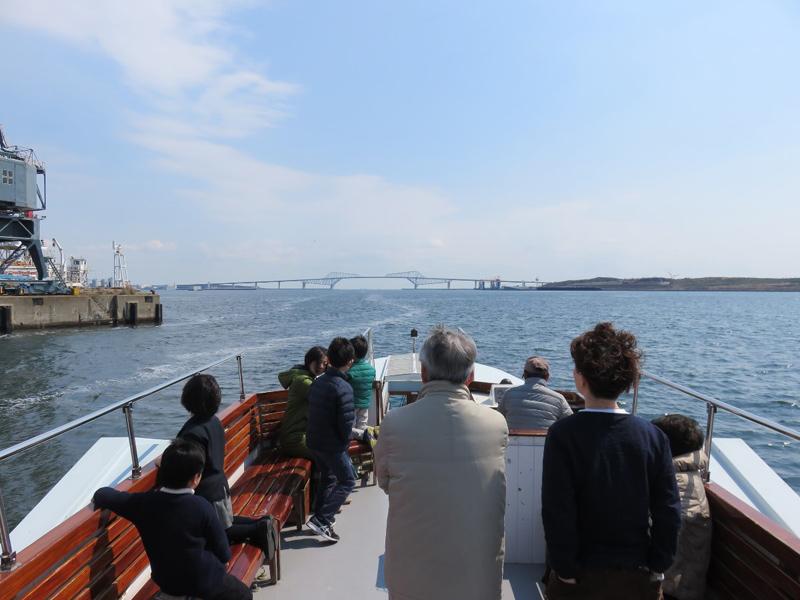 2.東京ゲートブリッジ沖へ