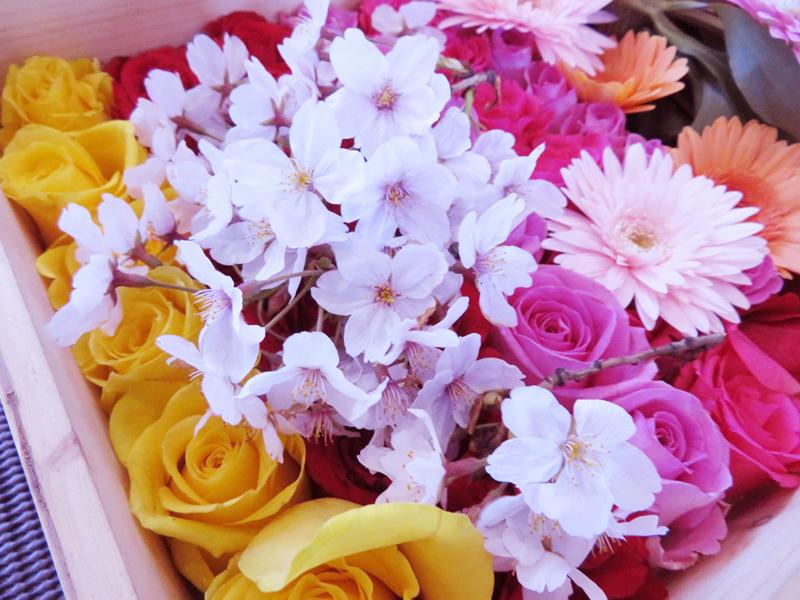 1.春らしく桜をアレンジ