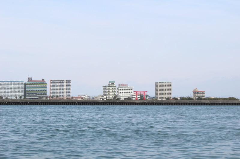 4.弁天島の鳥居