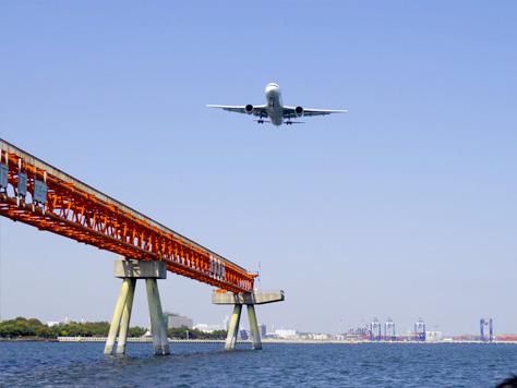 7.羽田空港沖合ならではの光景