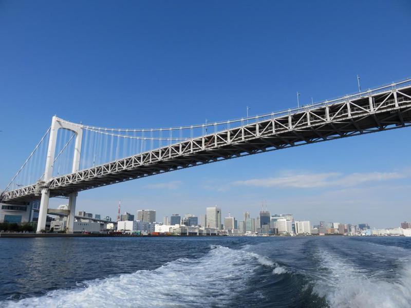 3.レインボーブリッジと東京タワー