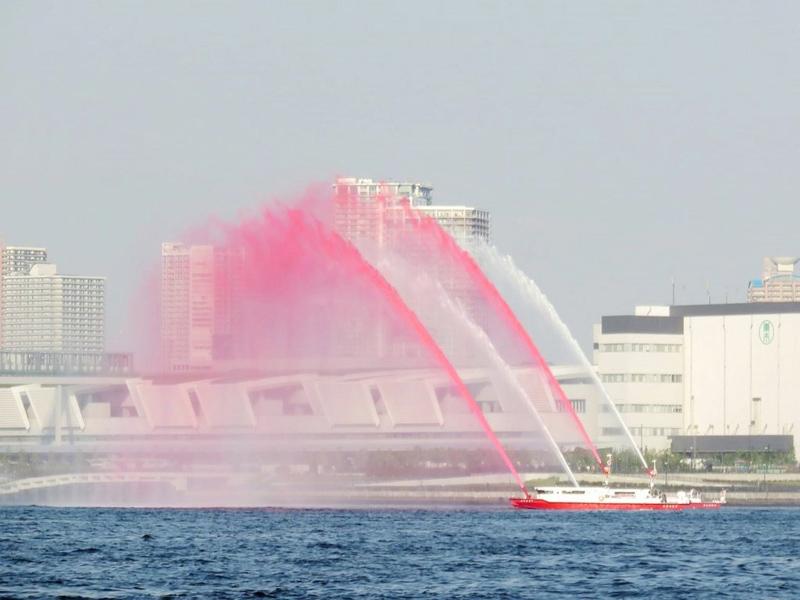 12.水の消防ページェント練習風景