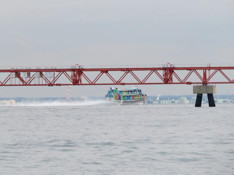 9.ジェット船