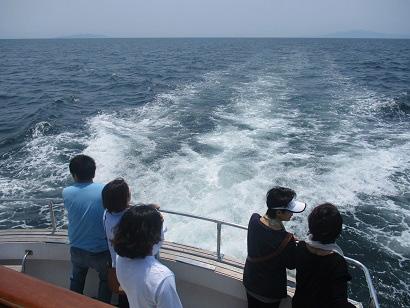 6.海を見つめ思いを馳せます
