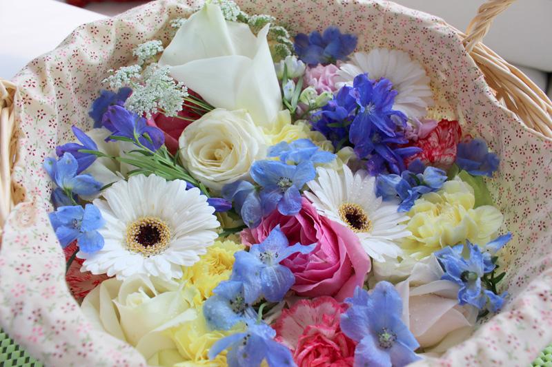 1.色とりどりの花