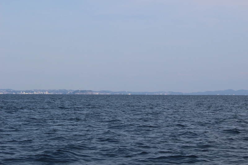 4.遠くに江ノ島と湘南の街並み
