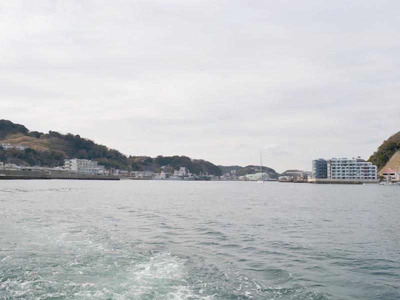 1.浦賀から出港