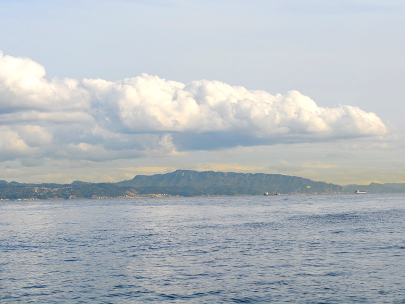 7.横須賀から見た房総半島