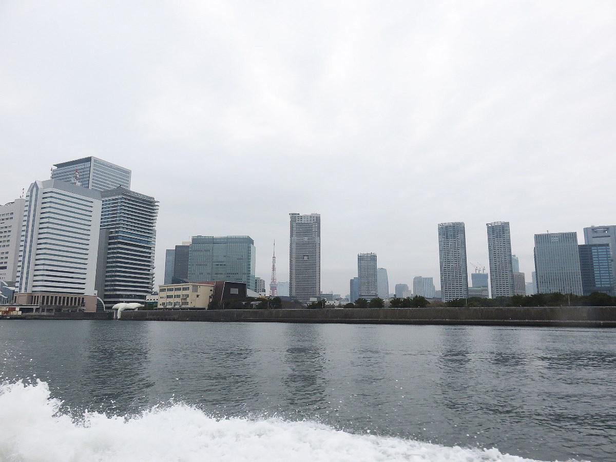 1.出航後の東京タワー