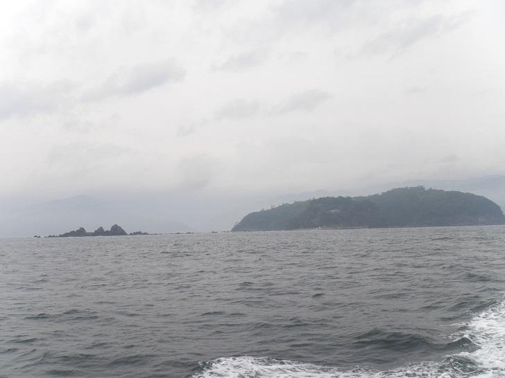 3.真鶴半島沖の散骨ポイントへ