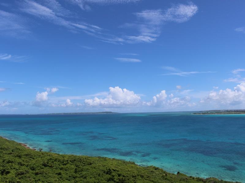 6.透き通る宮古島の海にお別れ