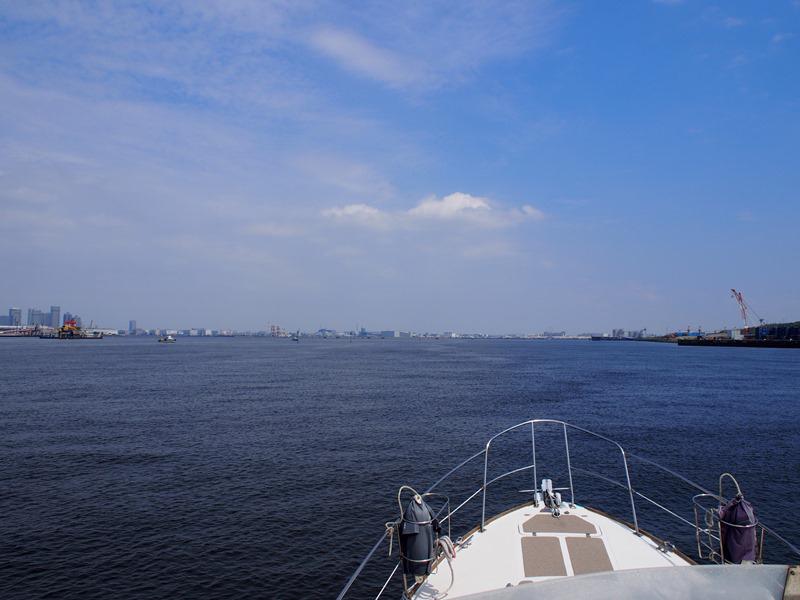 9.穏やかな東京湾