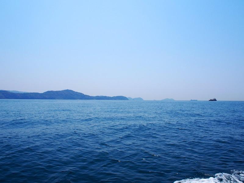 3.暖かく穏やかな海