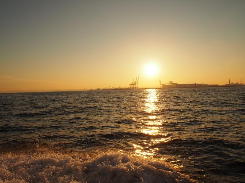 9.もうすぐ日没です