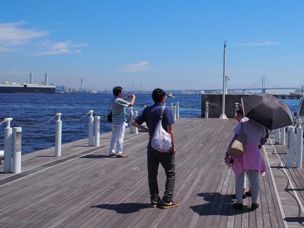 2.乗船前に記念撮影