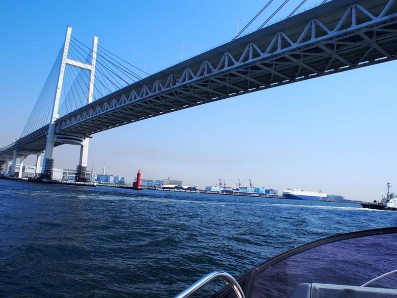 8.橋をくぐり