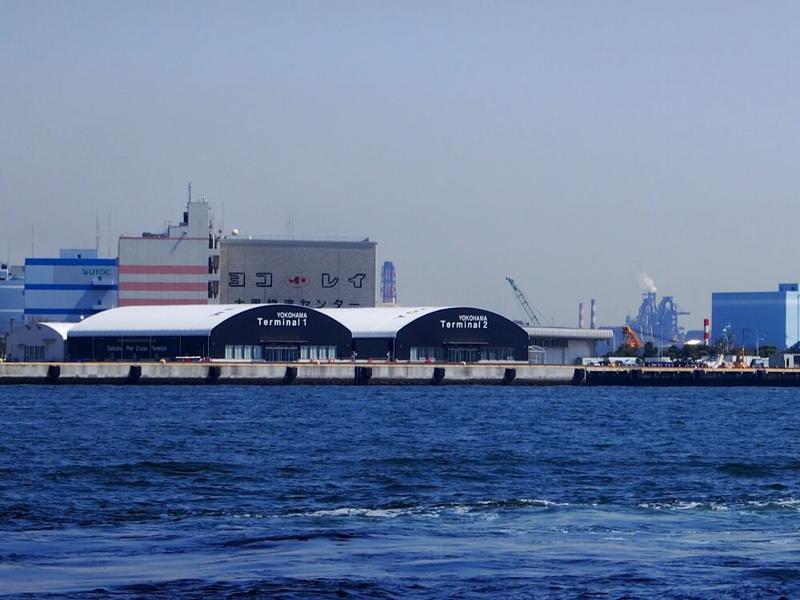 9.大黒ふ頭客船ターミナルを越えて
