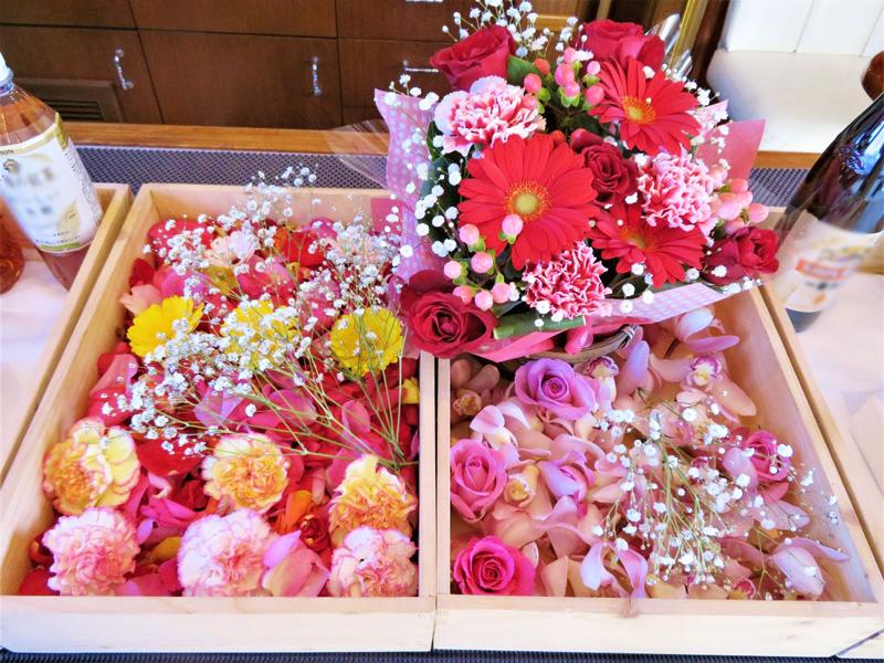 1.ご希望のお花